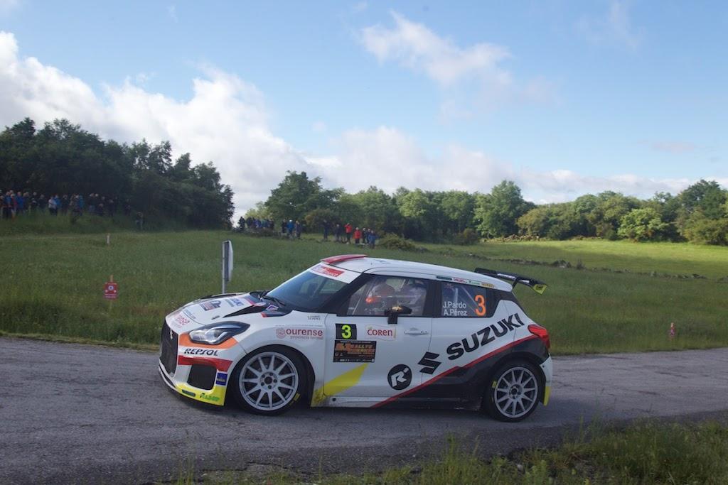 Mala fortuna para Javier Pardo y podio para Joan Vinyes en el Rallye de Ourense