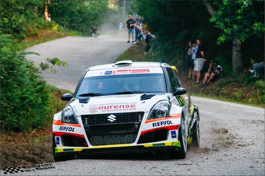 Javier Pardo y Adrián Pérez se suben al pódium en el Rallye Sur do Condado