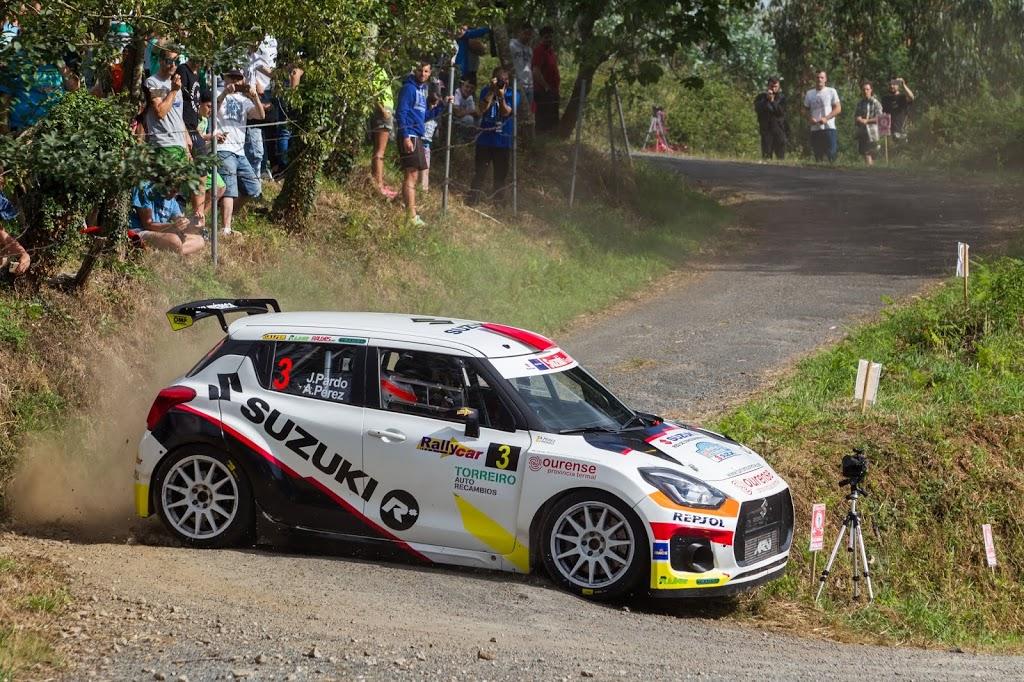 Los Suzuki Swift R+ dominan la categoría N5 en el 49º Rallye de Ferrol