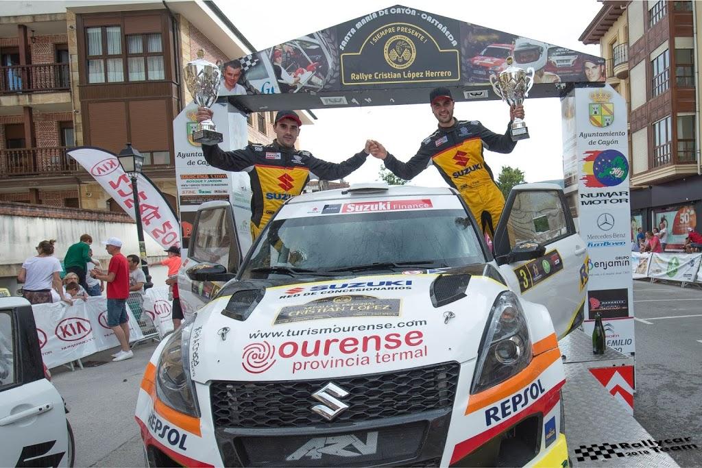 Javier Pardo y Adrián Pérez vencen en Cantabria