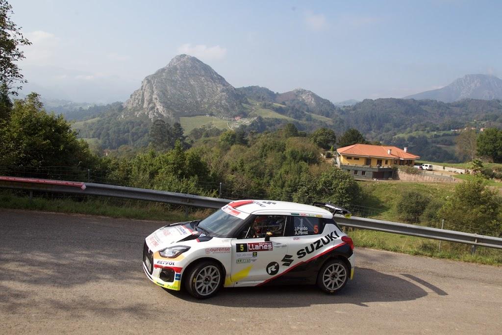 Doblete entre los N5 para el equipo Suzuki en el Rallye de Llanes