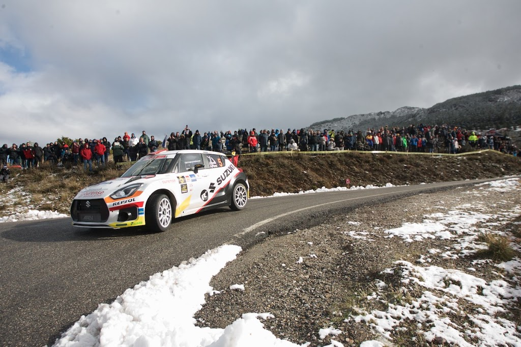 Espectacular Rally Comunidad de Madrid para Javier Pardo y Adrian Perez sin premio final