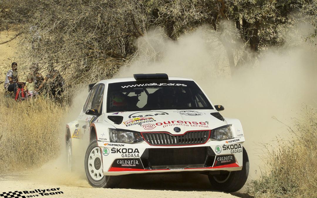 Javier Pardo y Adrián Pérez subcampeones de España de Rallyes de Tierra (CERT)