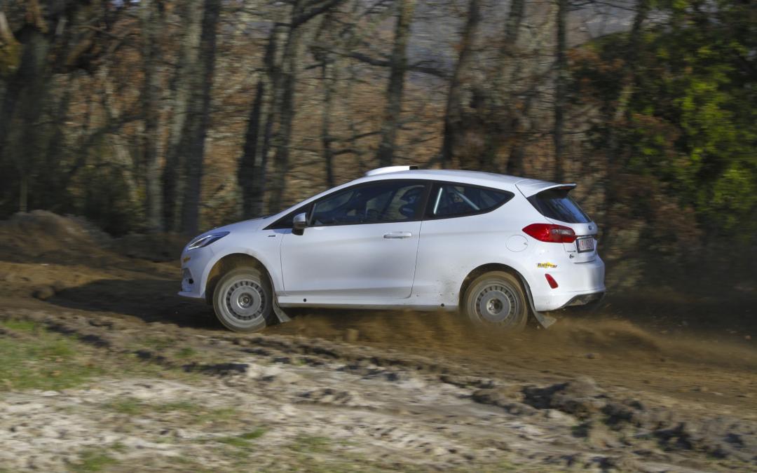 Javier Pardo disputará el Rally Terra da Auga con el Ford Fiesta R2T